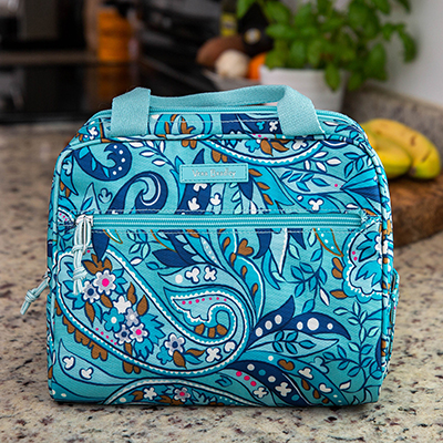 VERA BRADLEY<sup>®</sup> Lighten Up Lunch Cooler - Dine in style and keep your meal cool with this stylish lunch cooler.  Bag measures 9